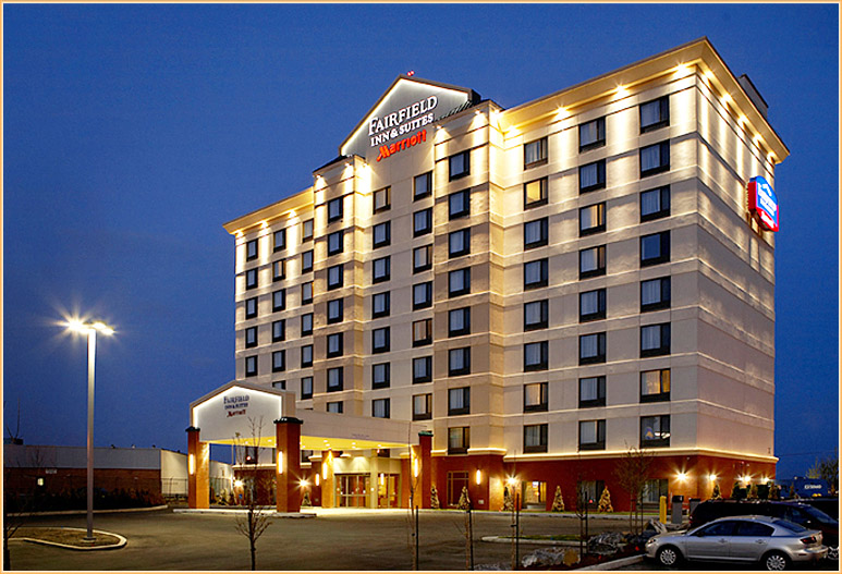 "125,00 sq.ft. Hotel executed in 15 1/2 months from ground-breaking to a certified ""customer ready"" property"